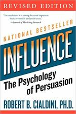 Cover of one othe best negotiation books Influence by Robert Cialdini